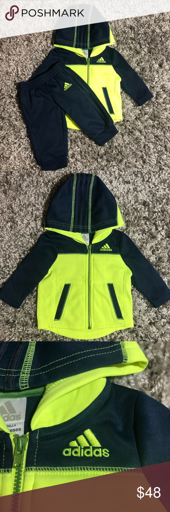 BABY: 3 MO. NEW ADIDAS TRACKSUIT New, never worn but no tags