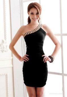 Imagenes de vestidos pegados bonitos