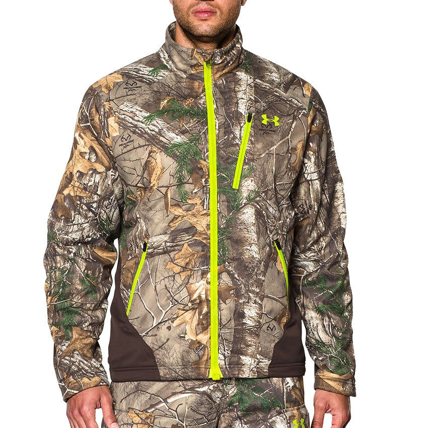 b6f0d9077564c Under Armour Men's UA Storm Scent Control Barrier Jacket   Hunting