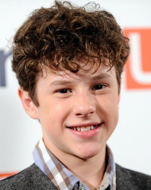 Curlyhairstyleforschoolboys Kids Pinterest School Boy - Hairstyle boy curly