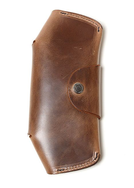 Tanner Eye Glass Case In Saddle