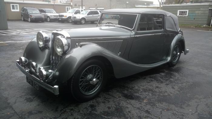 Alex's 1939 Jaguar SS-Jaguar - AutoShrine Registry
