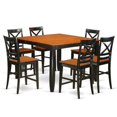 East West Fairwinds 7 Piece Counter Height Pub Table Set