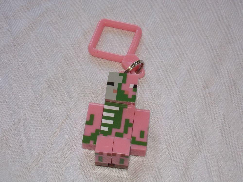 Minecraft Hanger Loose/New Zombie Pigman Backpack Clip Party Favor 1 Hanger #MINECRAFT