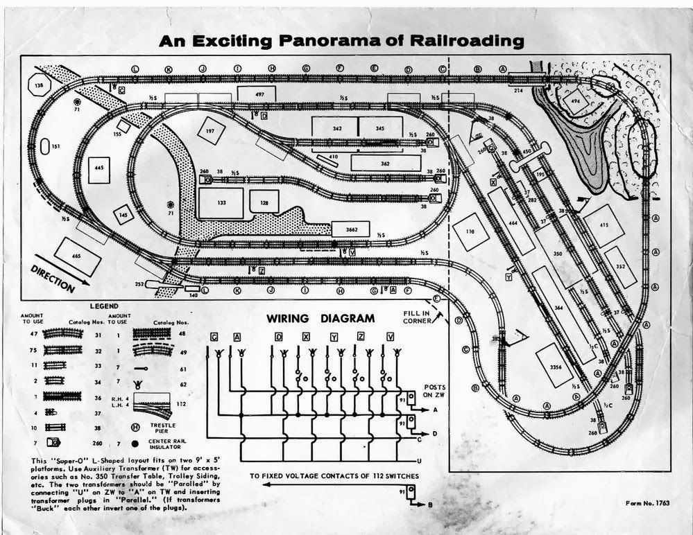 O Gauge Report: Our White Whale: 1957 Super O Dealer Layout | All ...