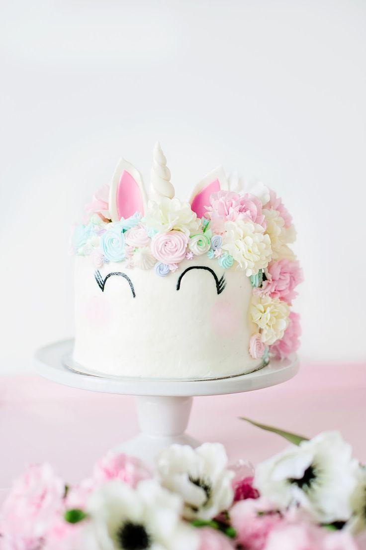 Torta De Unicornio Torta Para Ninas Serpentinas Pinterest - Tortas-para-nios