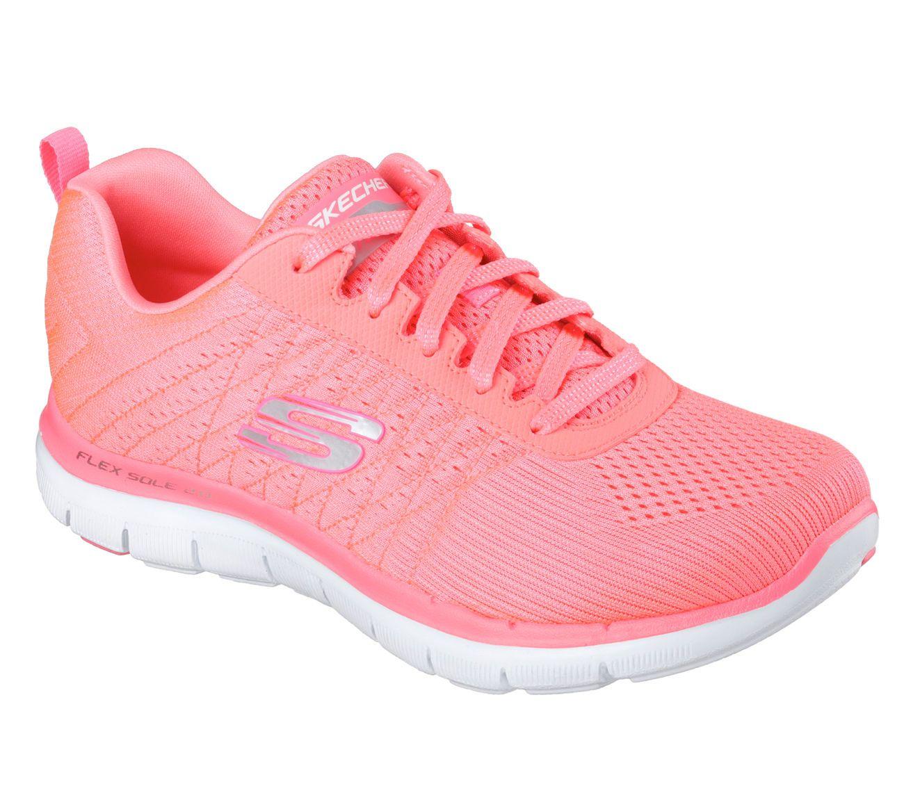 12775 Light Pink Skechers shoe Women Memory Foam Sport Train