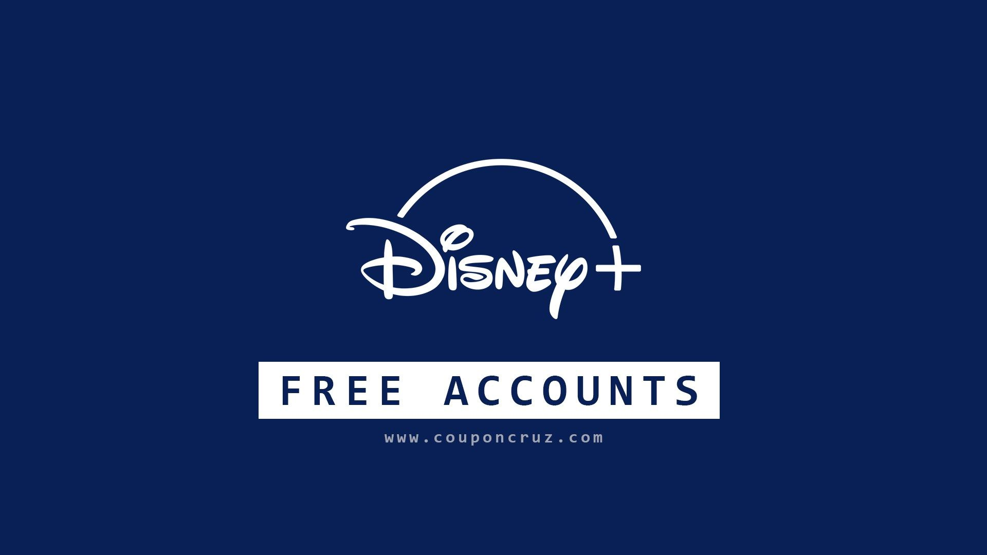 How to get free disney plus account in 2021 couponcruz