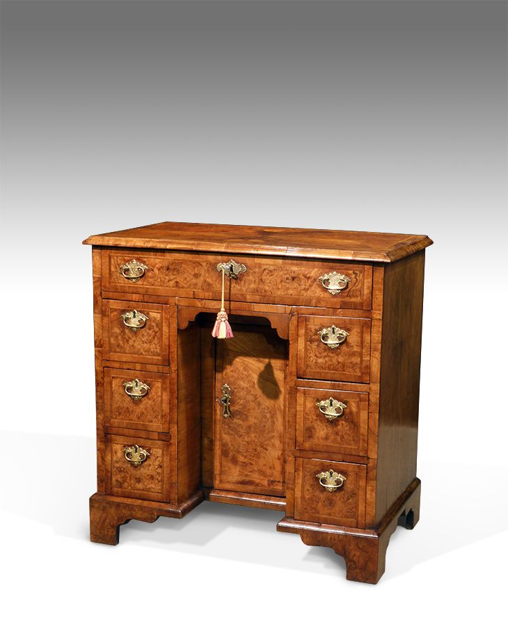 Walnut kneehole desk - Walnut Kneehole Desk Antique Furniture For The Study Pinterest