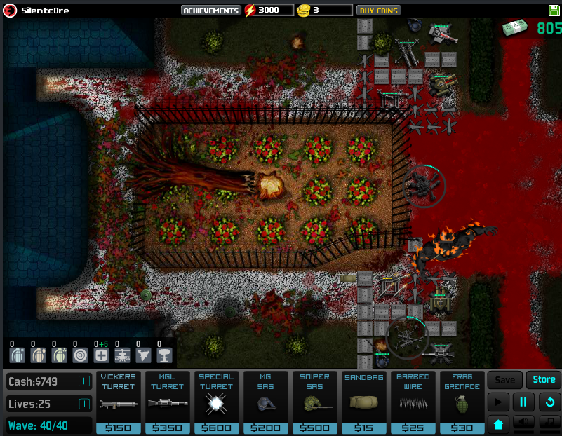 new map in sas td http ninjakiwi com games action play sas zombie