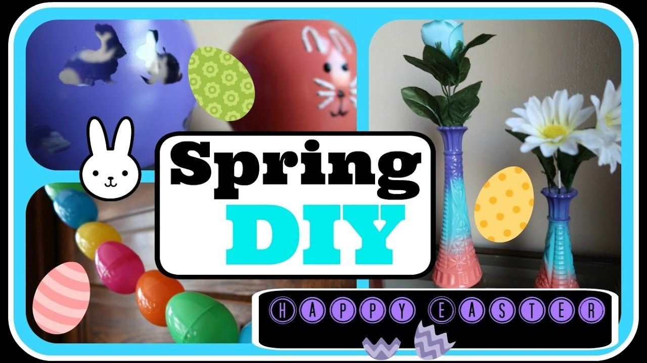 Spring. Easter DIY Decor