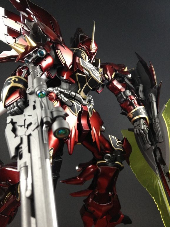 MG 1/100 Sinanju Ver. Ka.     Modeled by  syann  GG INFINITE:  ORDER HERE        CLICK HERE TO VIEW FULL POST...