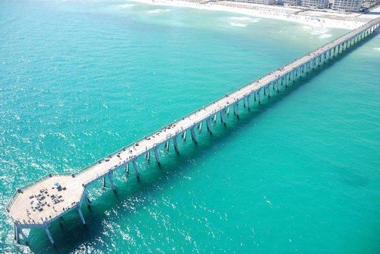Navarre Beach Picture Longest Pier Into The Gulf Of Mexico Check Out Tripadvisor Members 2 278 Candid Photos And Videos