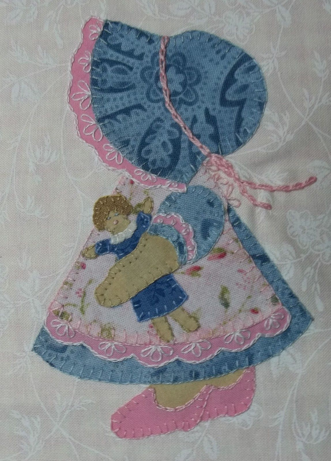 Little Girl Applique Quilt Patterns Basic Embroidery