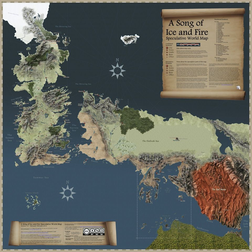 photograph about Game of Thrones Printable Map titled Pin upon Geek Things