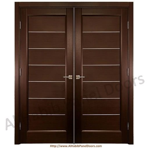 Main stripes door hpd476 main doors al habib panel for House main double door designs
