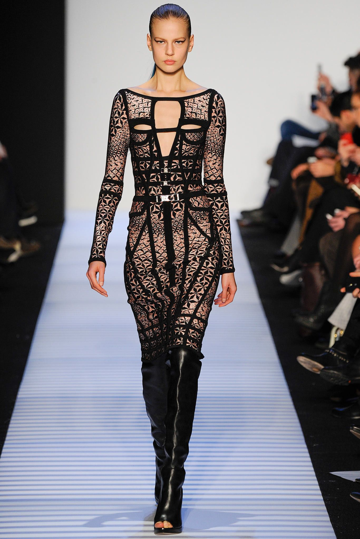 Hervé Léger by Max Azria FallWinter 2014-2015 Collection – New York Fashion Week recommend