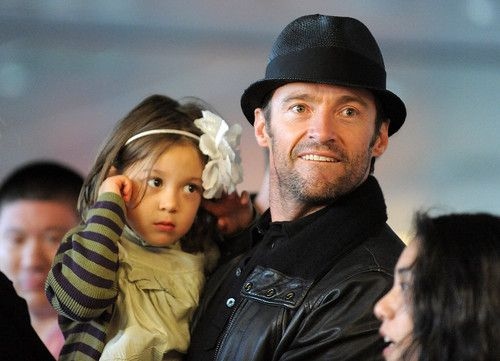 Hugh Jackman with daughter Ava Eliot