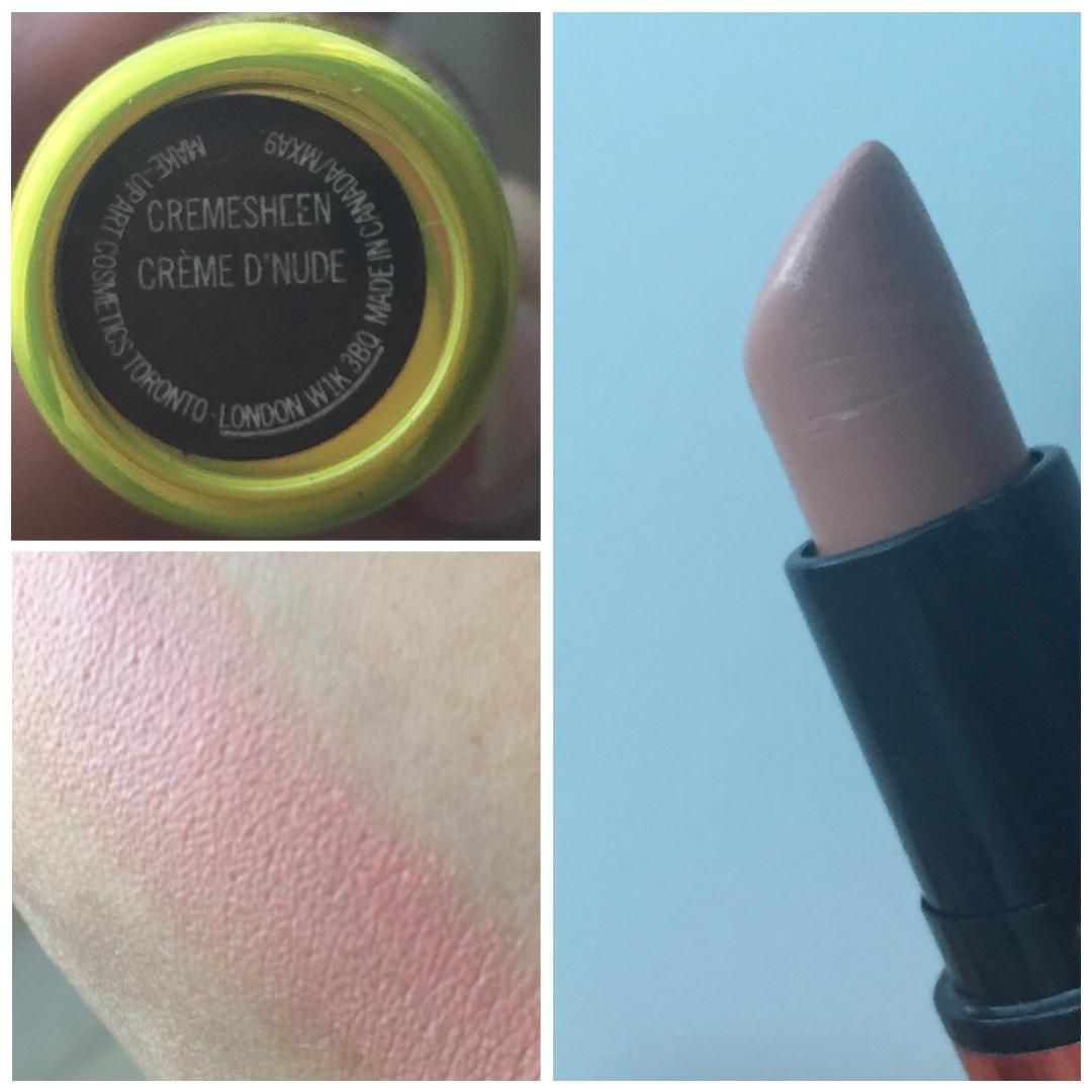 MAC Permanent Nude & Neutral Lipstick Swatches & Review