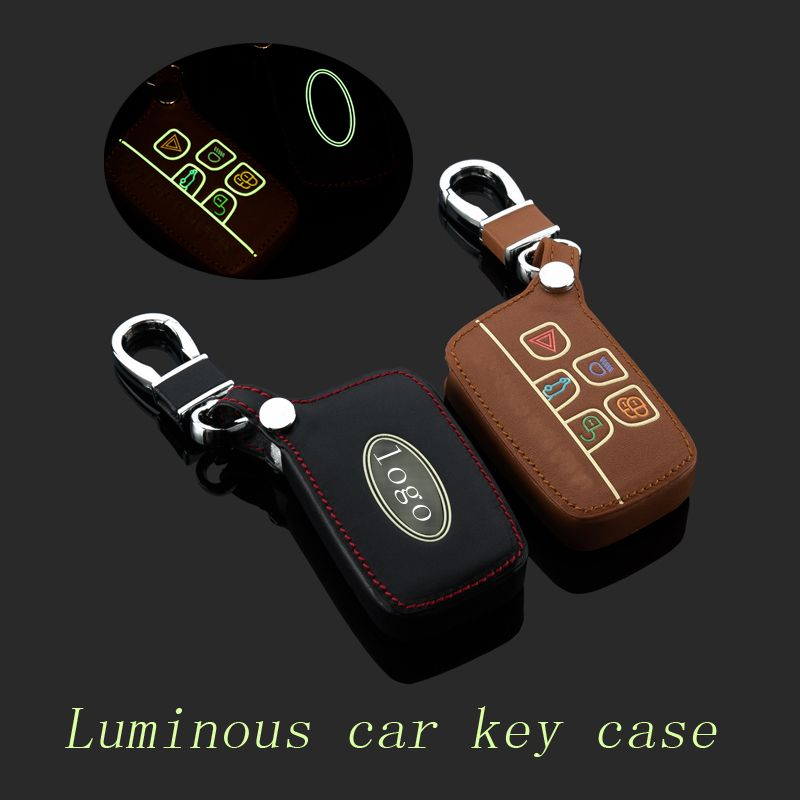 Smart Remote Key Case Cover Fob w// keychain For Land Rover Range Rover Discovery