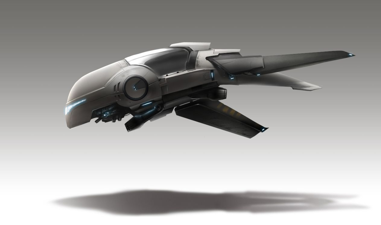Hovercraft concept by Anas Riasat