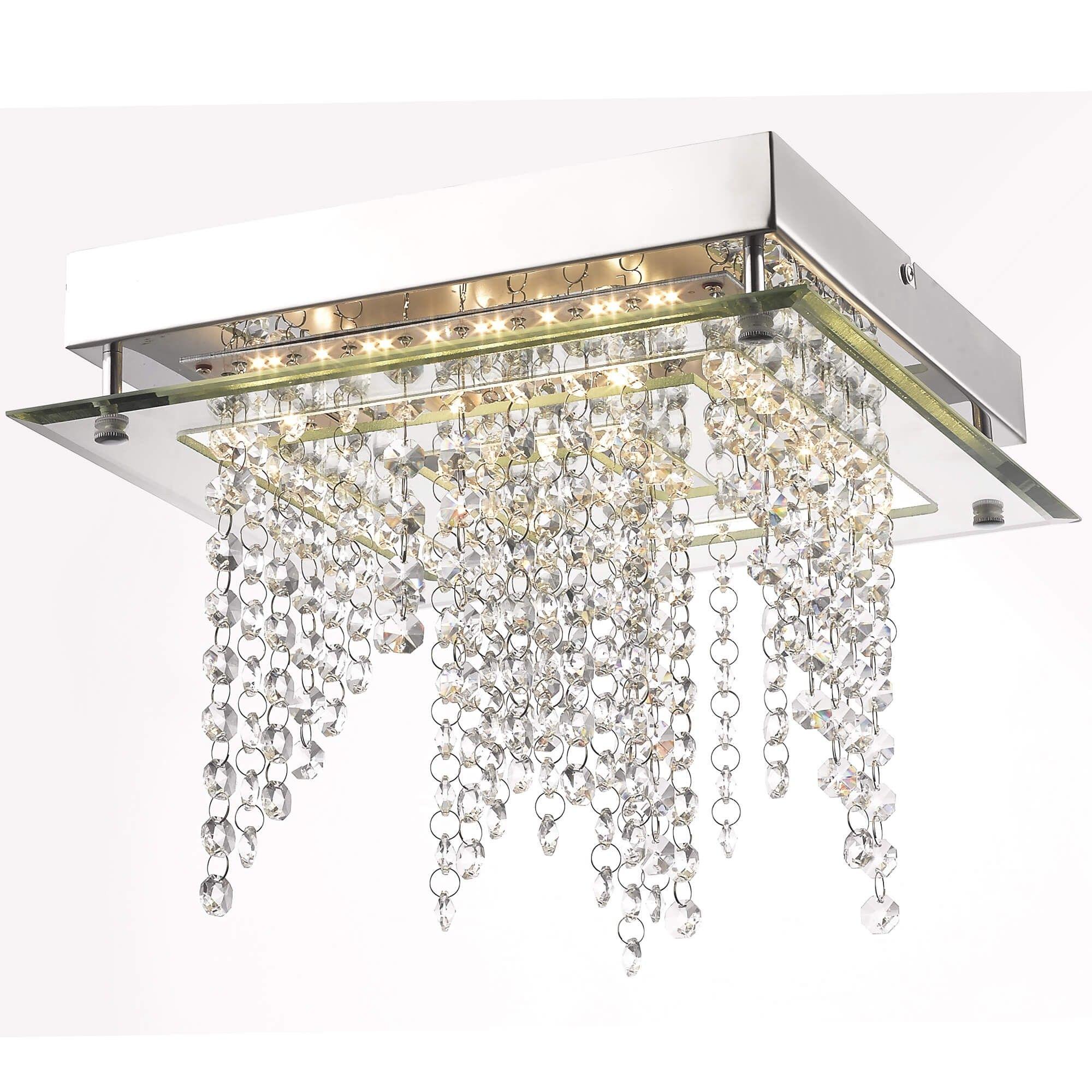 Capurro Led Semi Flush Ceiling Light Ceiling Lights Flush
