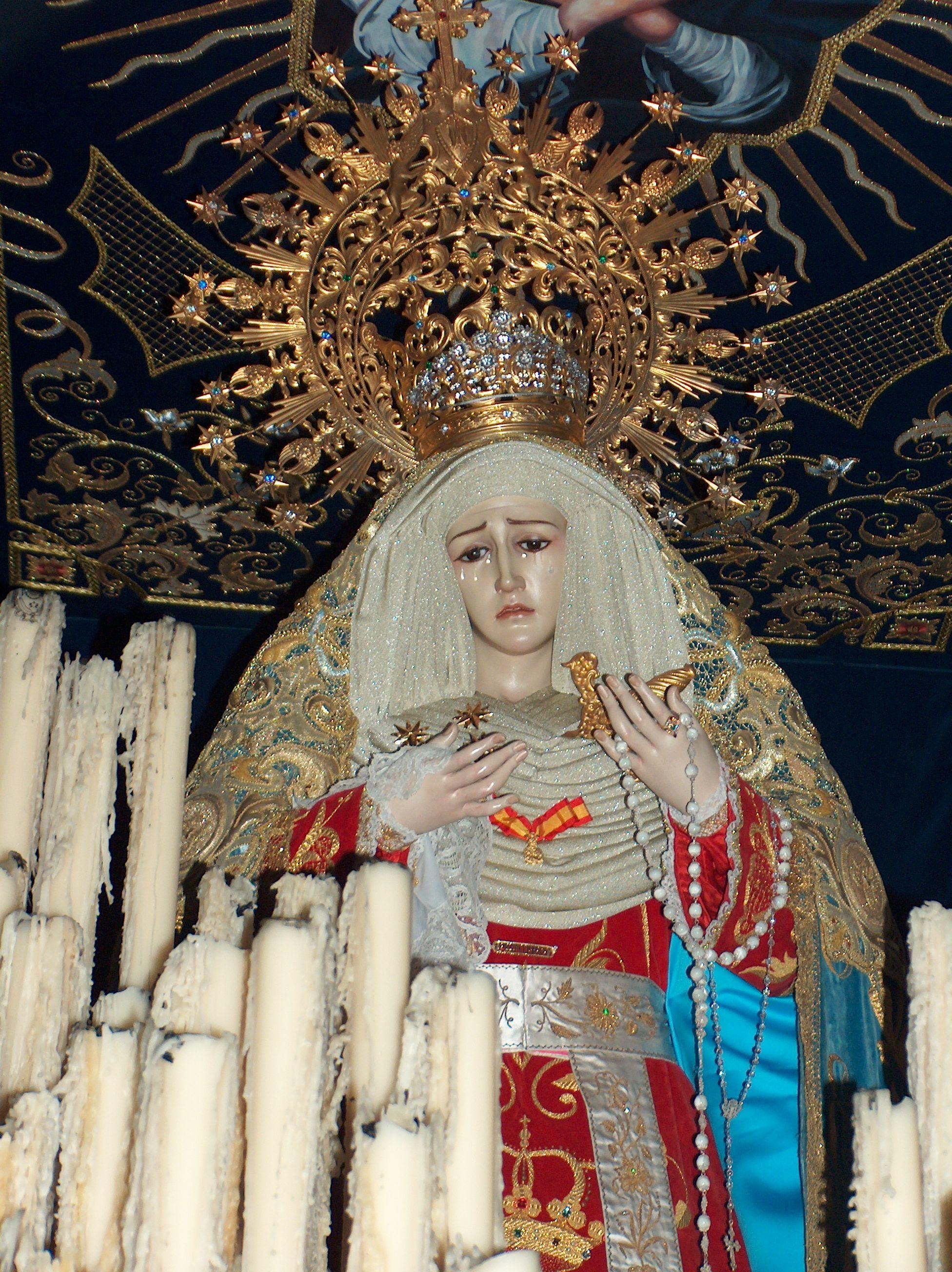 paso de palio de la cofradía de Jesús Cautivo
