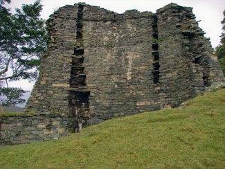 "The word 'broch' derives from the Norse borg (""fort"") and is used by archaeologists to describe the circular, prehistoric drystone towers found mainly in the north and west of Scotland. Dun Telve (above), which is near the village of Glenelg on the Lochalsh coast, opposite the Isle of Skye, is a good example."