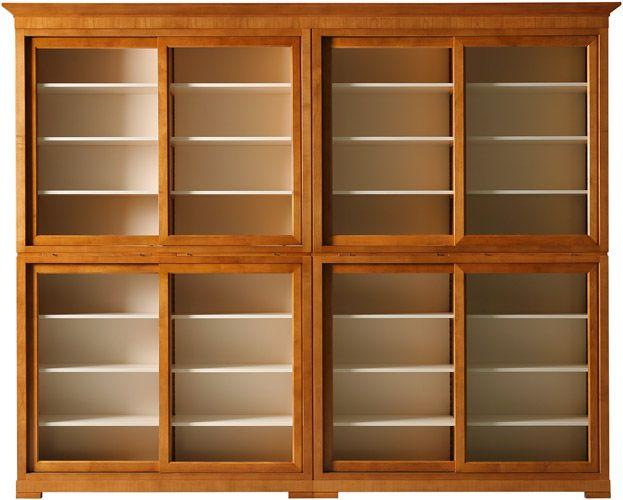 Emejing Libreria Con Ante In Vetro Contemporary - Mosquee-rodez.com ...