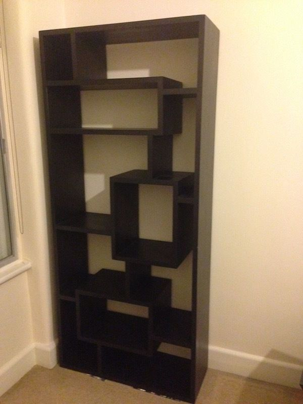 West Elm Geometric Storage Unit Bookcase Bookshelf Shelves In Westminster