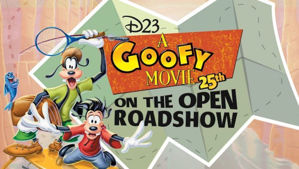 A Goofy Movie Disney Collectible Movie Poster **READ**