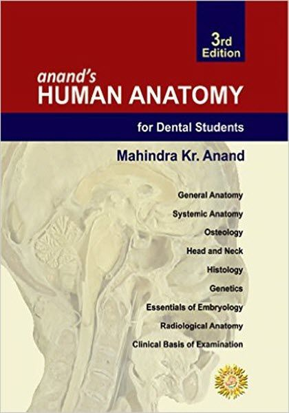 Anands Human Anatomy For Dental Students 3rd Edition Ebook Pdf Free