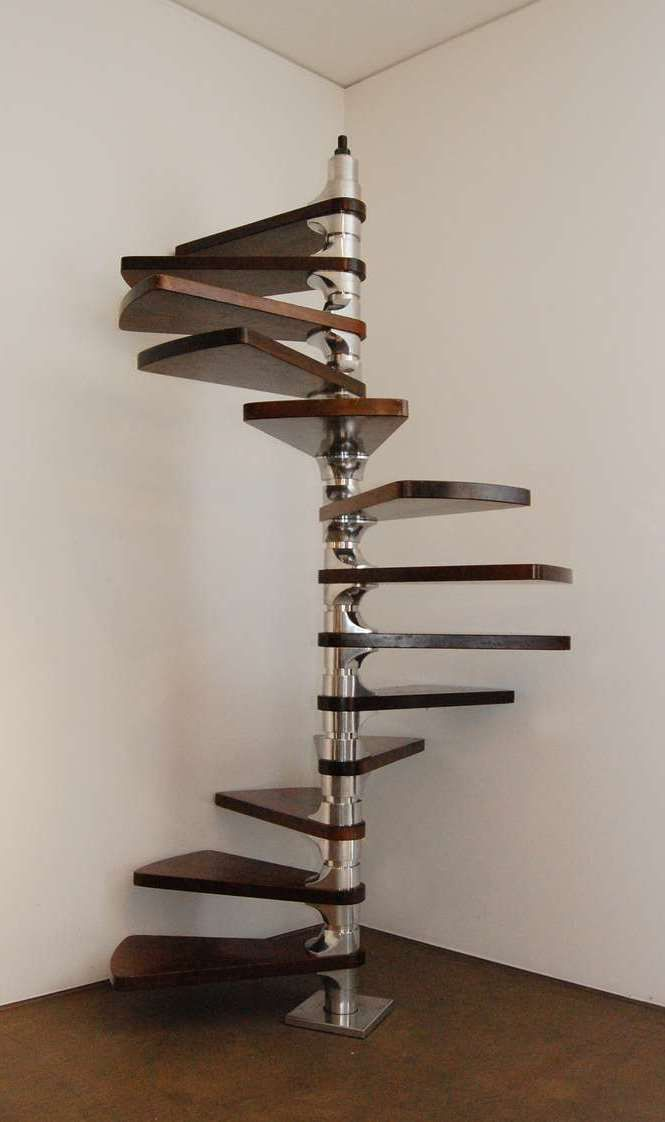 staircase 39 helicoid 39 by roger tallon 1966 m tal pinterest escaliers. Black Bedroom Furniture Sets. Home Design Ideas