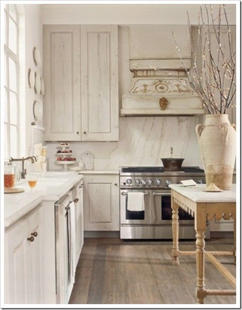 Image Result For Whitewashed Maple Cabinets Grey Kitchen