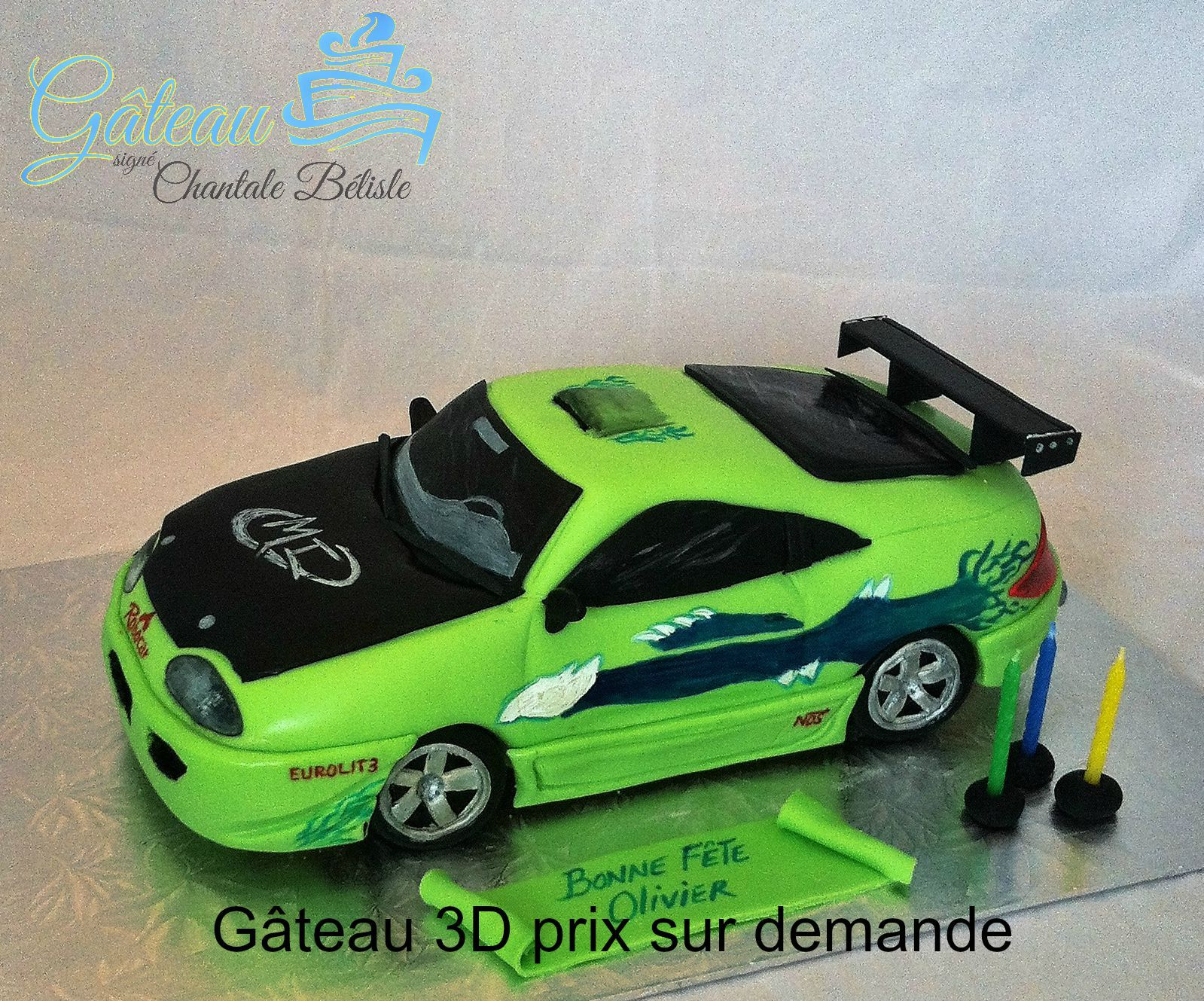 3d Fast And Furious Cake Fast And Furious Birthday Boy 16th