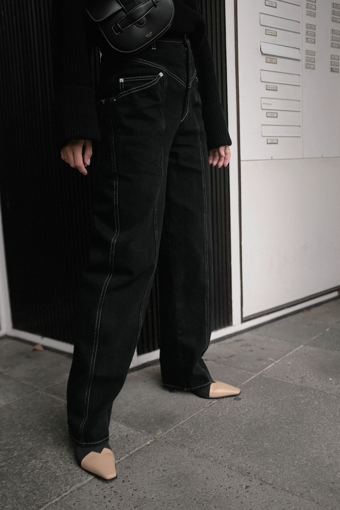 Nisi is wearing  Isabel Marant jeans 8d053d0b0