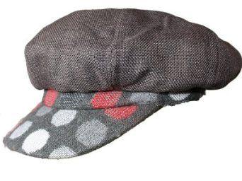 New Ladies Womens Spots Pattern Designer Baker Boy Style Warm Winter  Fashion Cap Hat. Fully Satin Lined e6b8e9d850c