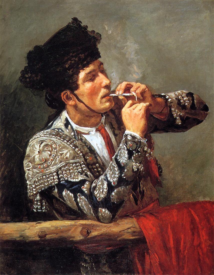 Toreador, Mary Cassatt - 1873