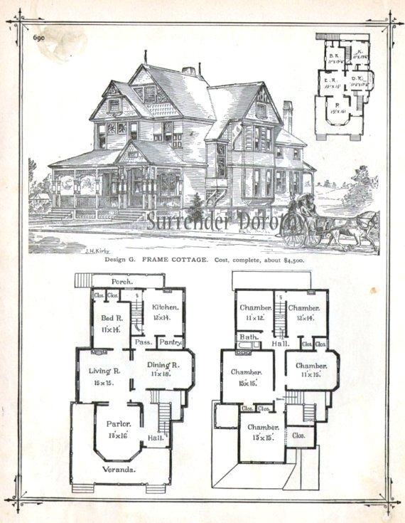 Old Victorian House Plans Profsleep Info Arquitectura Victoriana Casas Antiguas Ilustracion De Arquitectura