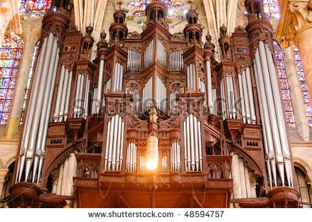 Cathedra mobili ~ Pipe organ of chartres cathedral close up france organs of