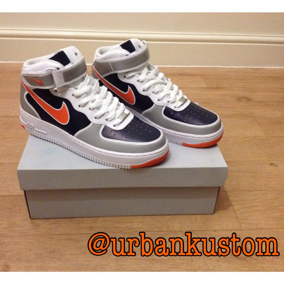 Nike Air Force 1s Customised By Urban Kustom!!! Nike AF1