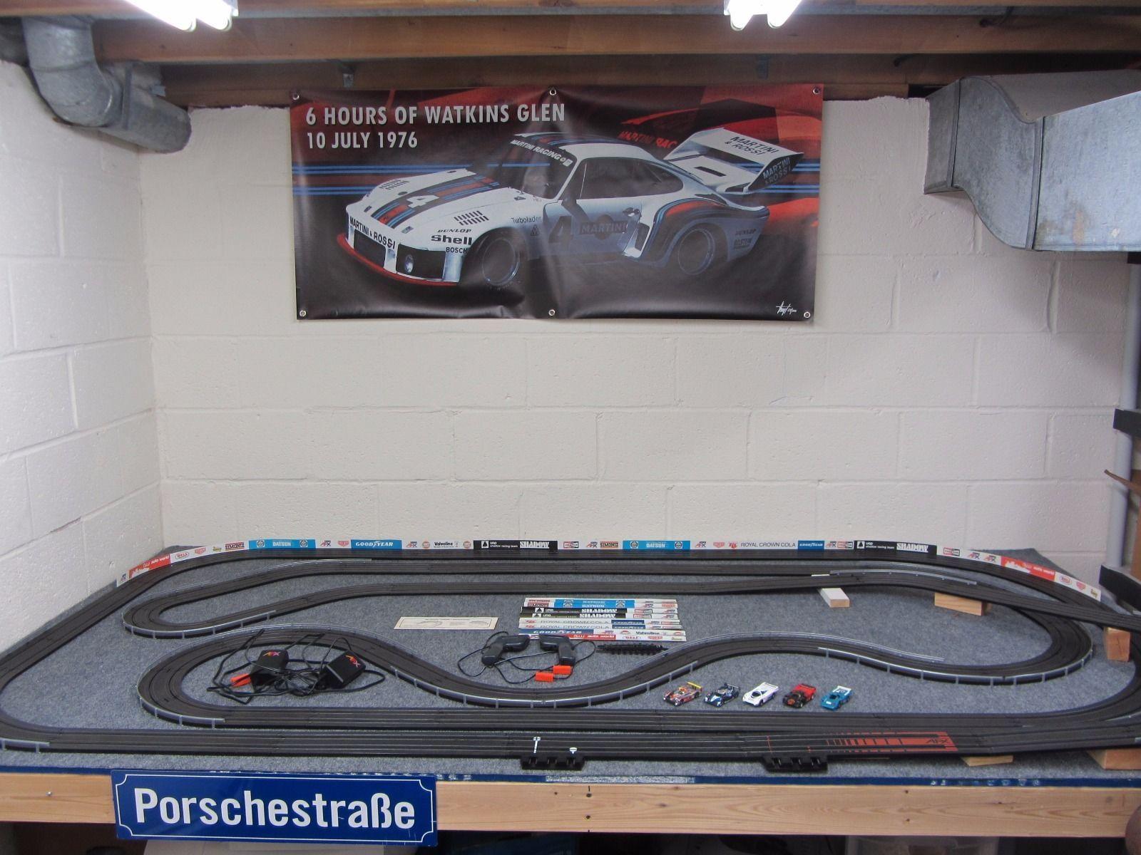 Large Tomy AFX HO Slot Car Track | eBay