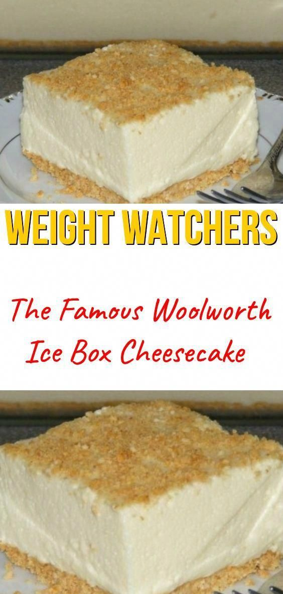 The Famous Woolworth Ice Box Cheesecake #famous #woolworth #icebox #cheesecake #healthy #recipes #food #weight_watchers #woolworthsrecipes