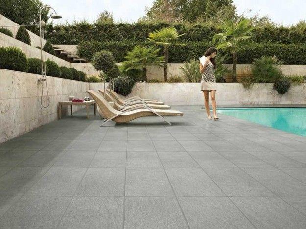 Come pavimentare un terrazzo - Pavimento per esterno | Pinterest ...