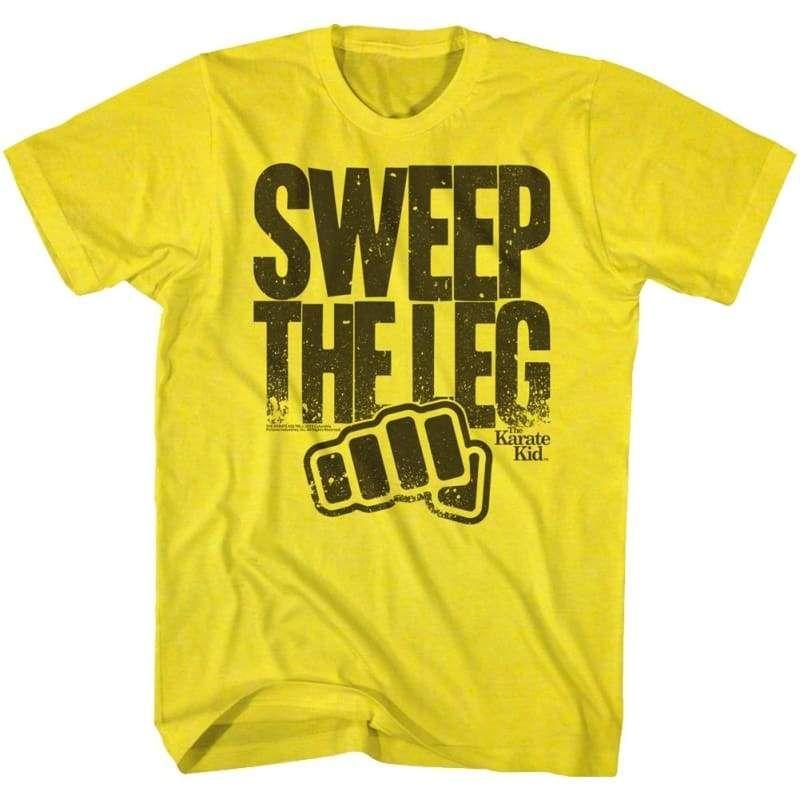 The Karate Kid Karate Sweep The Leg Adult T Shirt
