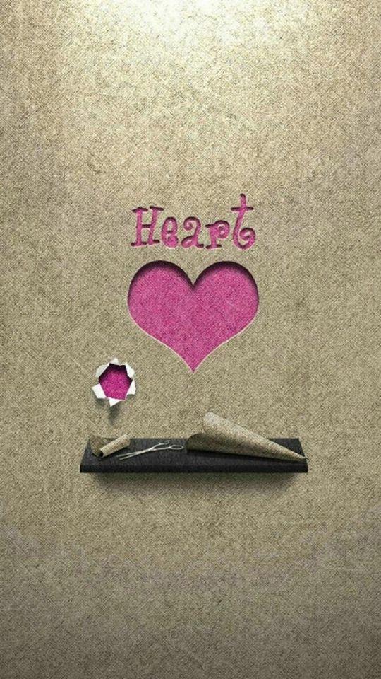 540x960 Love Heart Paper Lenovo Phone Wallpaper Hd Mobile Heart Iphone Wallpaper Full Hd Love Wallpaper Wallpaper Iphone Love
