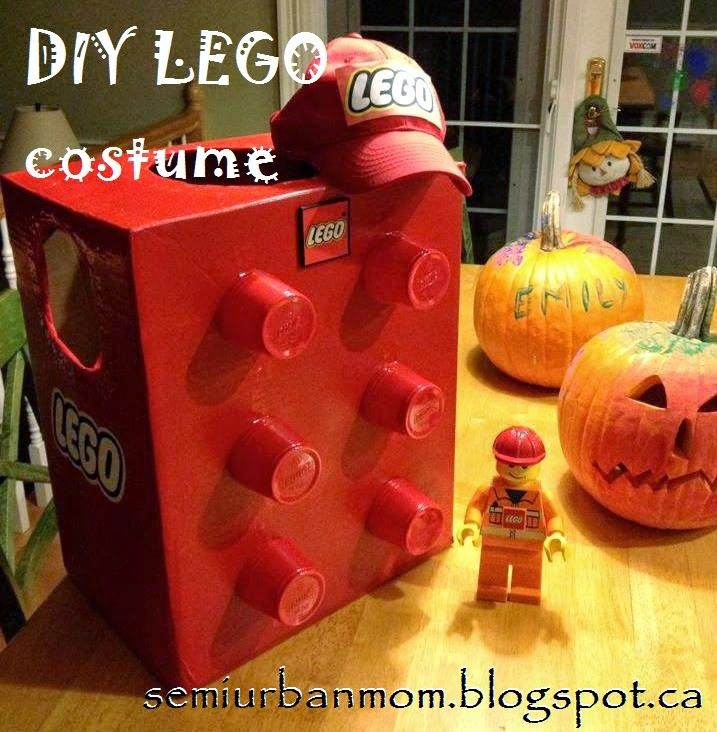 Have a LEGO fan in your house? Make this easy LEGO costume!