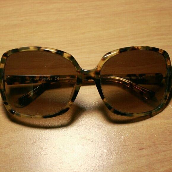 c59b4b613c Kate Spade 59mm Camel Tortoise Sunglasses