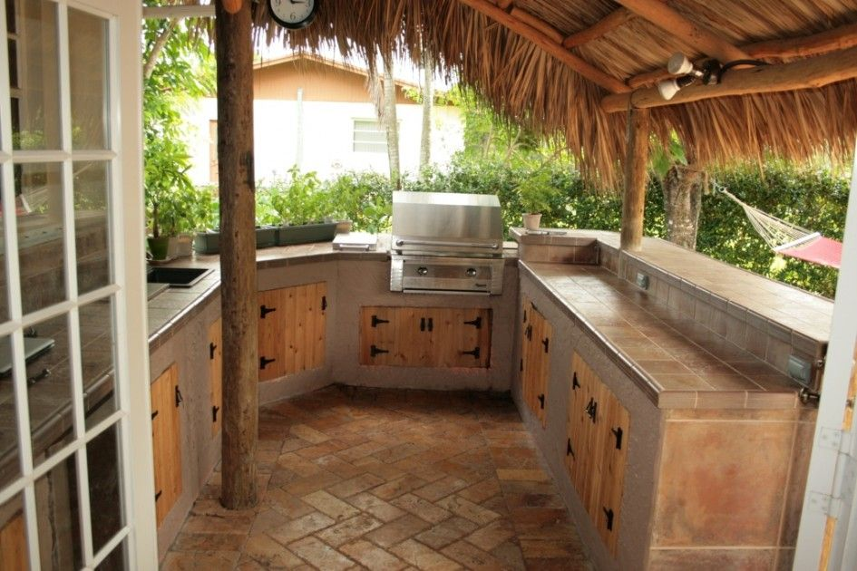 30 Rustic Outdoor Design For Your Home | Outdoor Kitchen ...