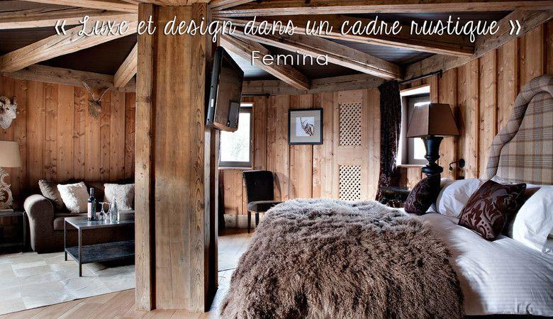 Hotel luxe Alpes - Les Fermes de Marie : Hôtel 5 étoiles Megève